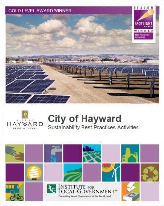 Image of City of Hayward: Sustainability Best Practice Activities