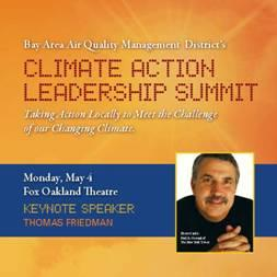 Image of BAAQMD Climate Action Leadership Summit program cover