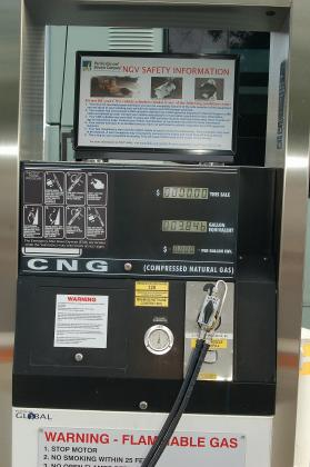 Image of a Compressed Natural Gas Pump