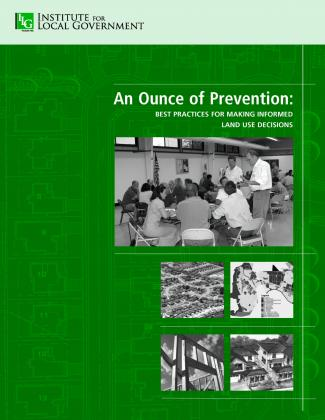 Image of An Ounce of Prevention: Best Practices for Making Informed Land Use Decisions