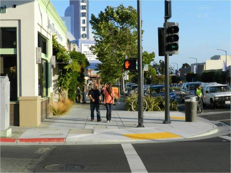 Image of El Cerrito Transforms Urban Highway into Main Street with Pedestrian and Environment-Friendly Amenities
