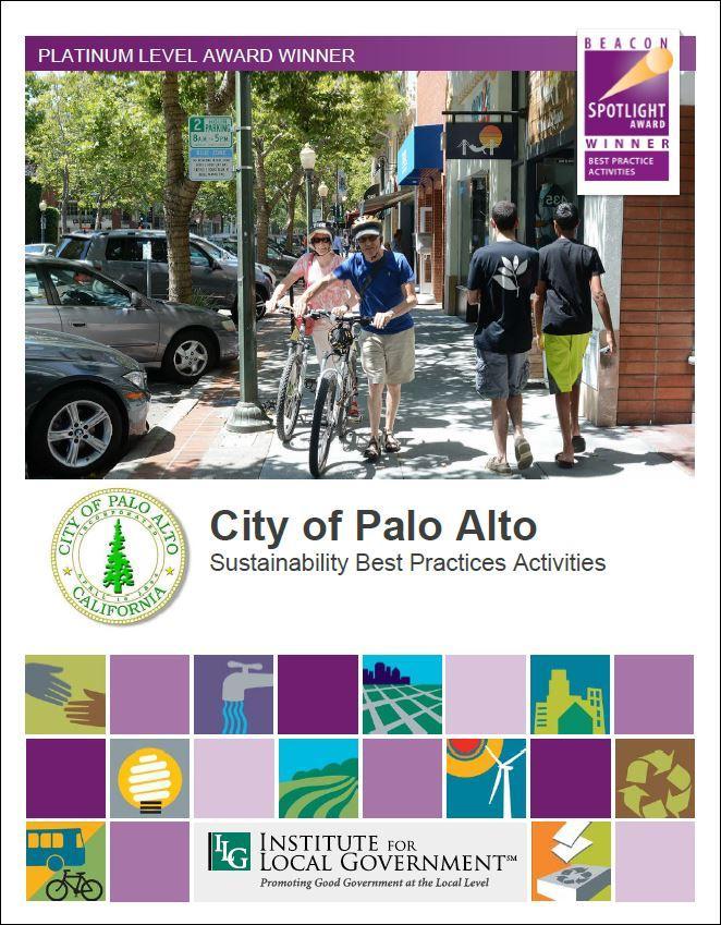 City of Palo Alto Sustainbility Best Practice Activities