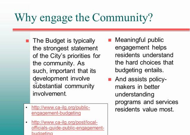 How to Ensure Your Budget Meets Your Community's Needs
