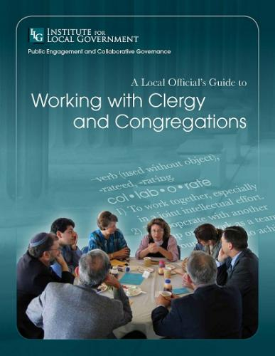 Image of A Local Official's Guide to Working with Clergy and Congregations
