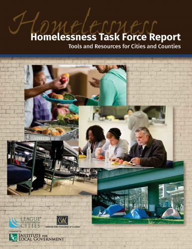 Homelessness Task Force Report - Institute for Local Government