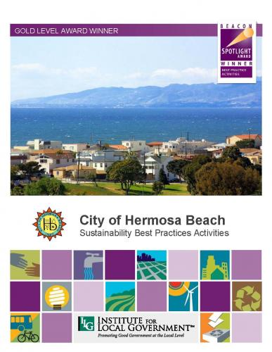 City of Hermosa Beach Sustainability Best Practice Activities