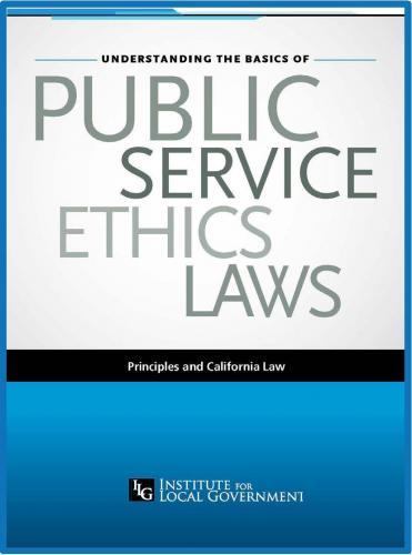 Image of Understanding the Basics of Public Service Ethics Laws