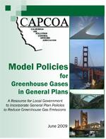 Image of CAPCOA Model Policies for Greenhouse Gases in General Plans