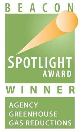 Image of Spotlight Award Winners for Agency Greenhouse Gas Reductions