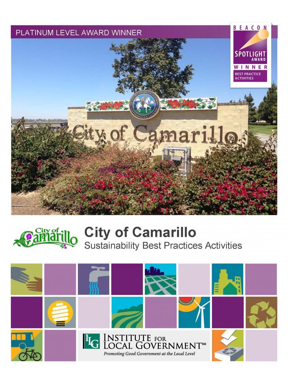 City Of Camarillo Sustainability Best Practice Activities