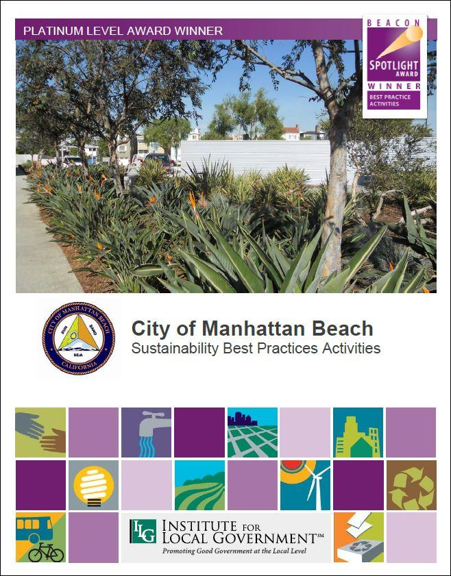 City Of Manhattan Beach Sustaility Best Practice Activities