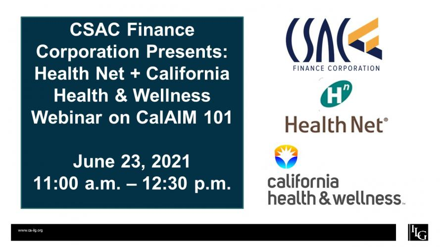 CalAIM 101: A Primer on California Advancing and Innovating Medi-Cal