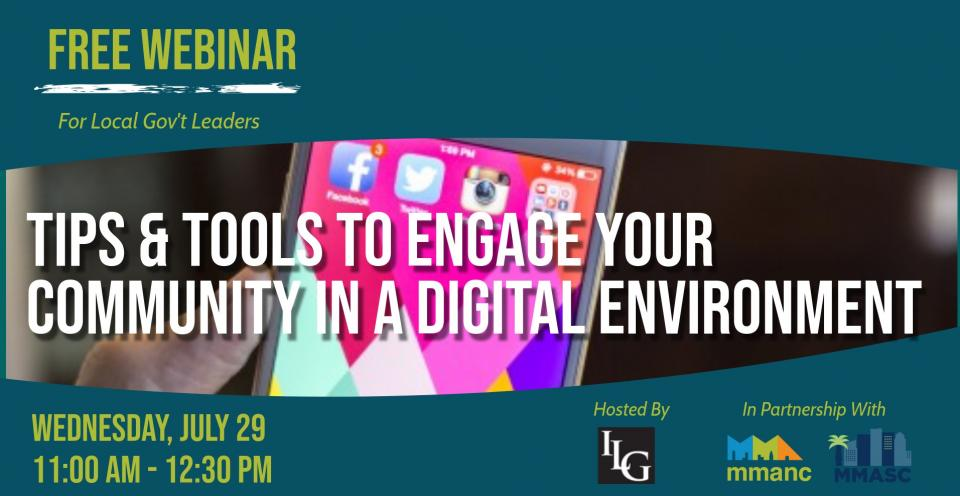Tips and Tools to Engage Your Community in a Digital Environment