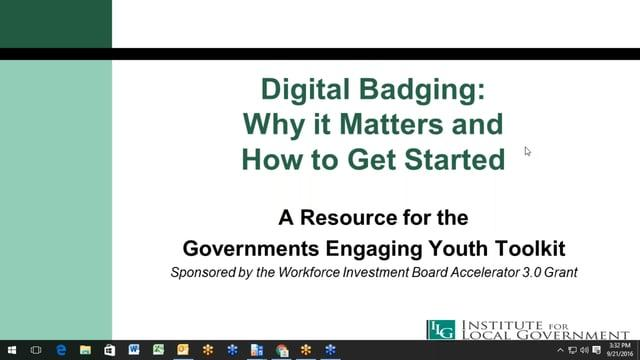 Digital Badging