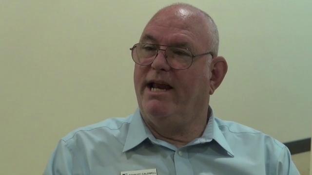 Mt. View Sanitary District Board Member Stanley Caldwell