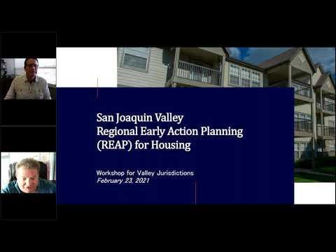 San Joaquin Valley REAP Workshop