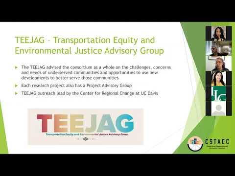 Equity Considerations for California's Transportation: