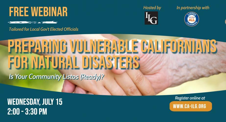 Preparing Vulnerable Californians For Natural Disasters