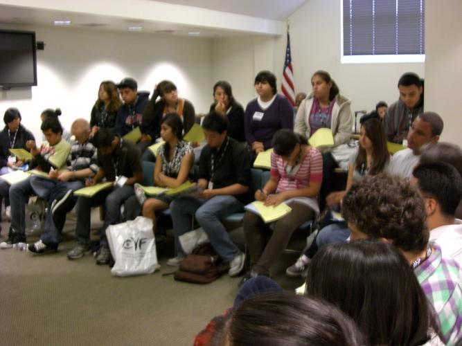 Youth Dialogue Roundtable in Los Angeles