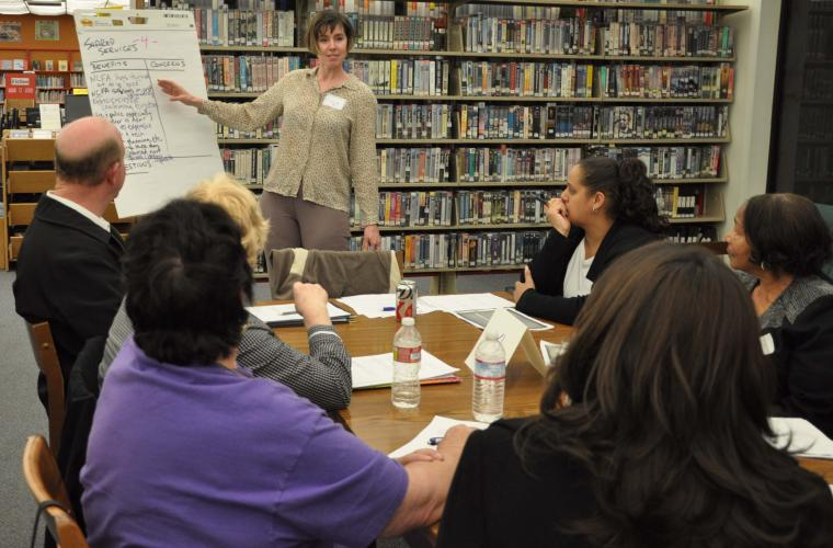 Public Engagement session in San Mateo County