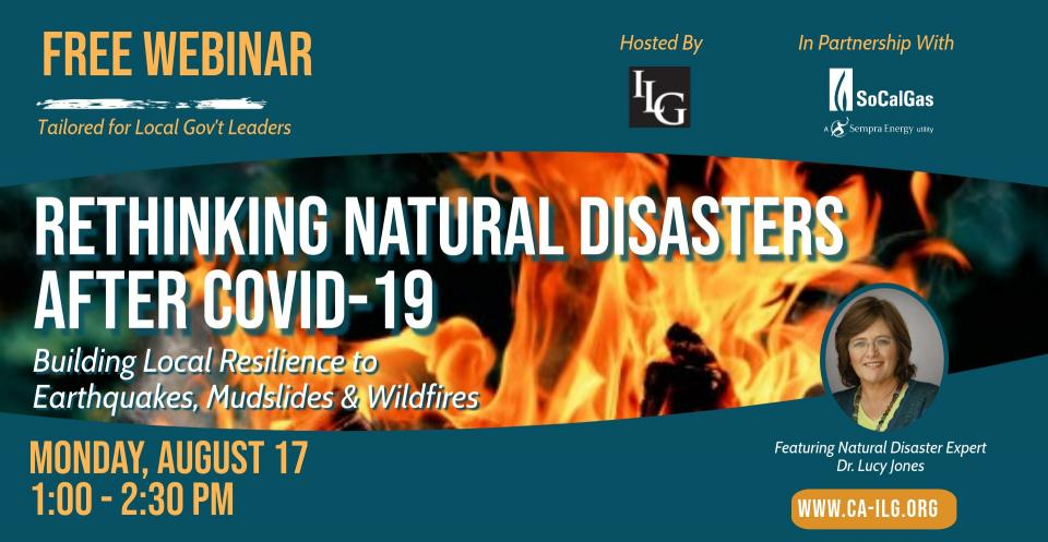Rethinking Natural Disasters After COVID-19