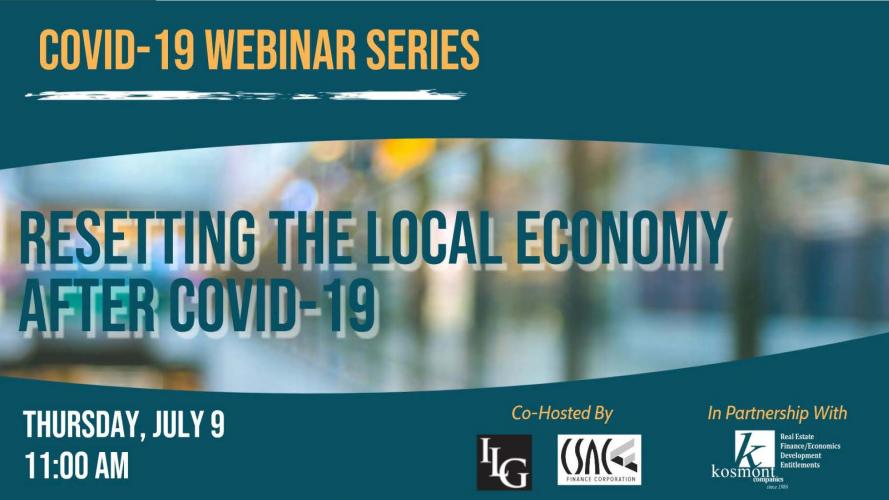 Resetting the Local Economy after COVID-19