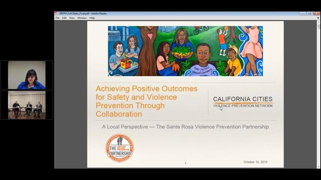 Achieving Positive Outcomes for Safety and Violence Prevention Through Collaboration