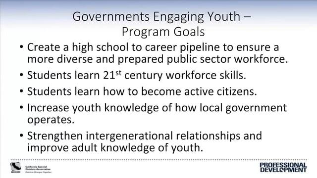 Special Districts Preparing the Next Generation of Local Leaders