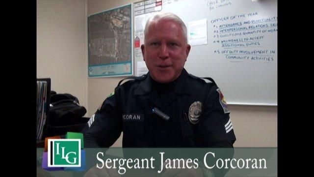 Meet Sergeant James Corcoran