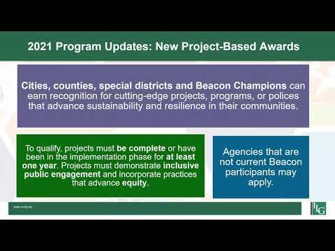2021 Award Category Updates